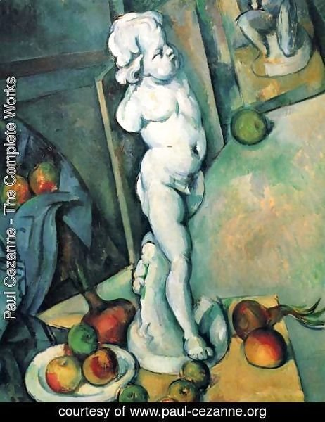 Paul Cezanne - Still Life with Putto
