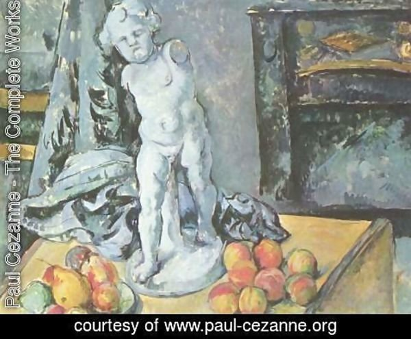 Paul Cezanne - Still Life with Statuette