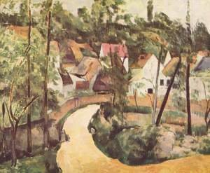 Paul Cezanne - Bend in the road