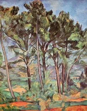 Paul Cezanne - Landscape With Viaduct