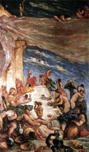 Paul Cezanne - The Orgy