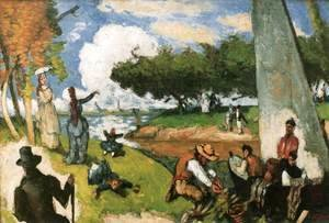 Paul Cezanne - Sunday Afternoon