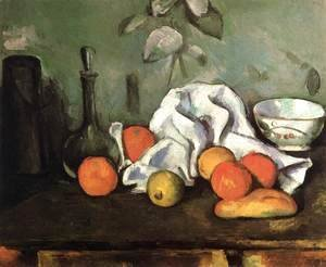 Paul Cezanne - Still-Life with Fruit