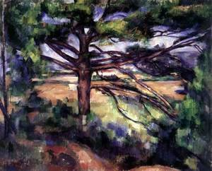 Paul Cezanne - Large Pine near Aix