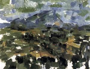 Paul Cezanne - Mont Sainte-Victoire Seen from Les Lauves 2
