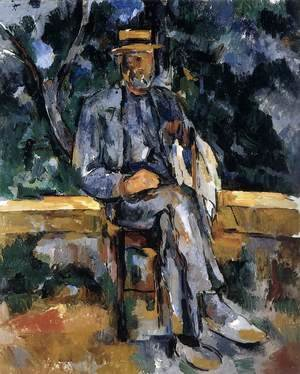 Paul Cezanne - Portrait of a Farmer