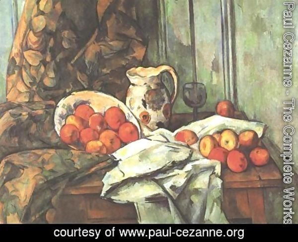 Paul Cezanne - Still life with jug
