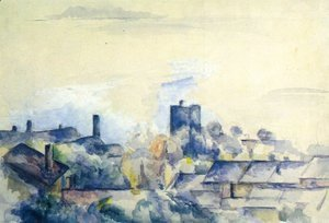 Paul Cezanne - Roofs in L'Estaque