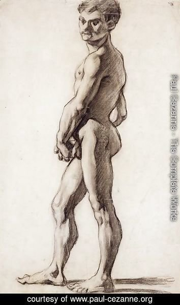 Paul Cezanne - A male nude