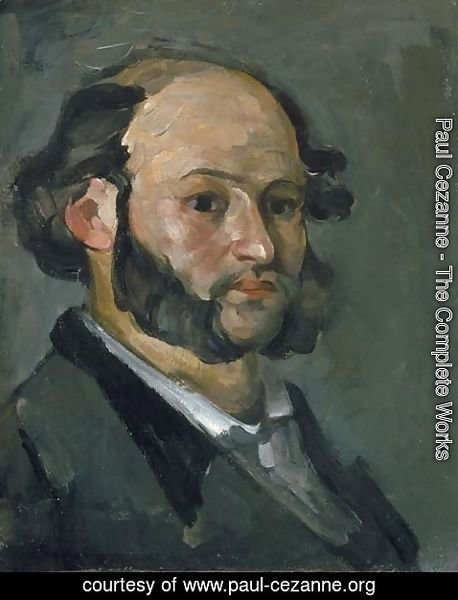 Paul Cezanne - Portrait of Gustave Boyer