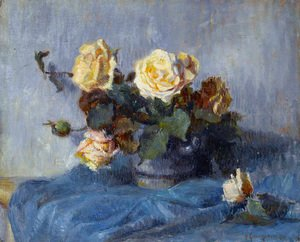 Paul Cezanne - Rose Bouquet