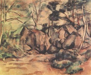 Woodland with Boulders