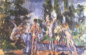 Paul Cezanne - Four Bathers 2