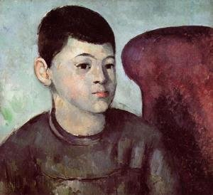 Paul Cezanne - Portrait of the Artist's Son 2