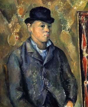 Paul Cezanne - Portrait of the Artist's Son 3