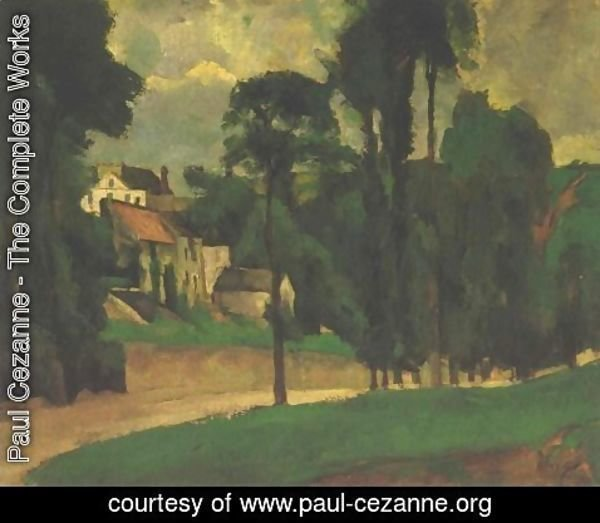 Paul Cezanne - Road at Pontoise