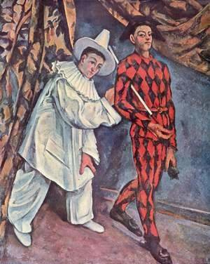 Paul Cezanne - Pierrot and Harlequin (Mardi Gras)