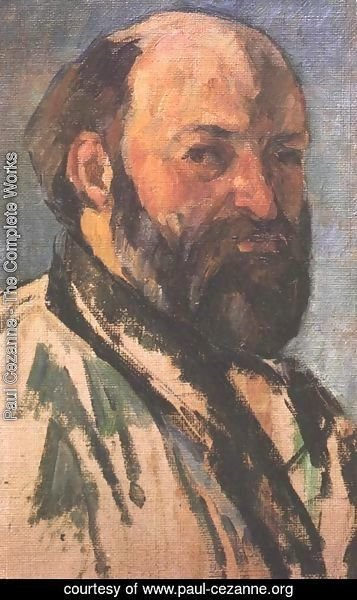 Paul Cezanne - Self-portrait 9