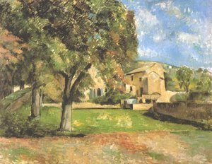 Paul Cezanne - Horse-chestnut-trees in Jas de Bouffan