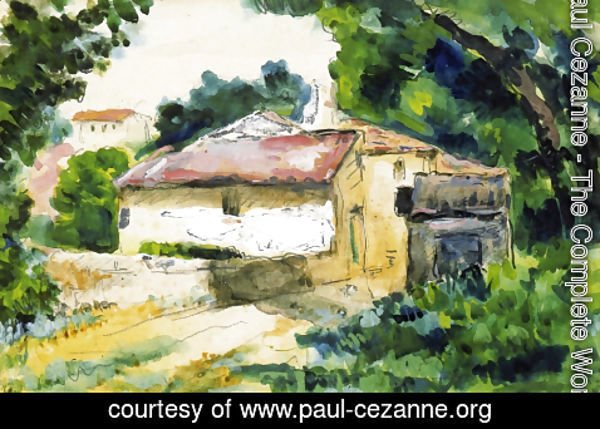 Paul Cezanne - House in Provence 2