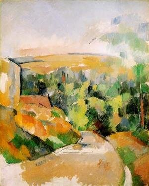 Paul Cezanne - A Bend In The Road