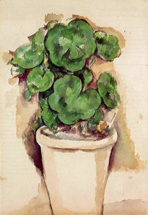 Paul Cezanne - A Pot Of Geraniums