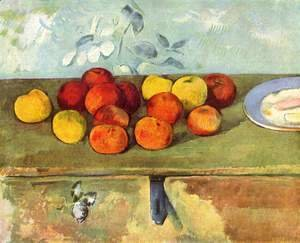 Paul Cezanne - Apples And Biscuits