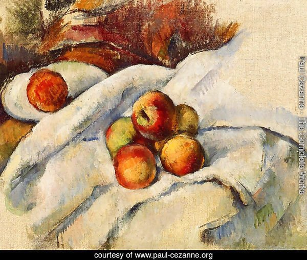 Apples On A Sheet