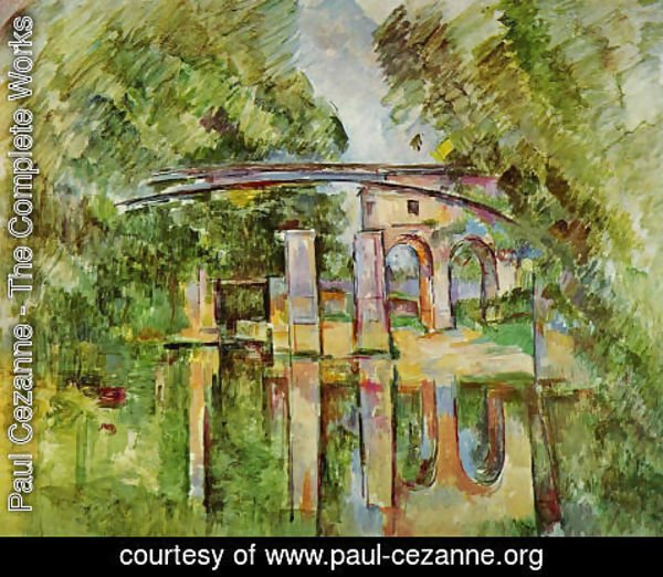 Paul Cezanne - Aqueduct And Lock