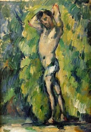 Paul Cezanne - Bather