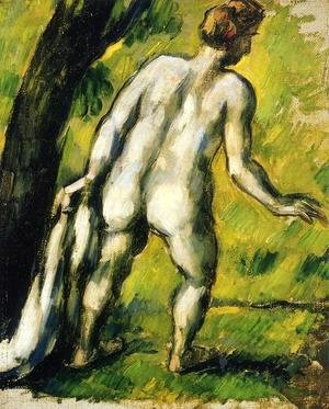 Paul Cezanne - Bather From The Back