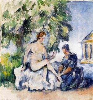 Paul Cezanne - Bathsheba 2