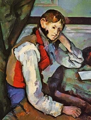 Paul Cezanne - Boy In A Red Vest