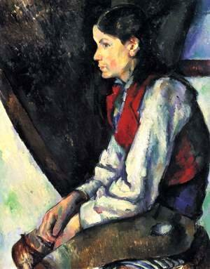 Paul Cezanne - Boy In A Red Vest2