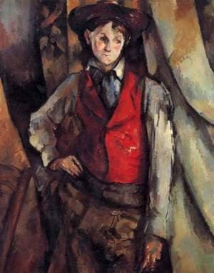 Paul Cezanne - Boy In A Red Vest3