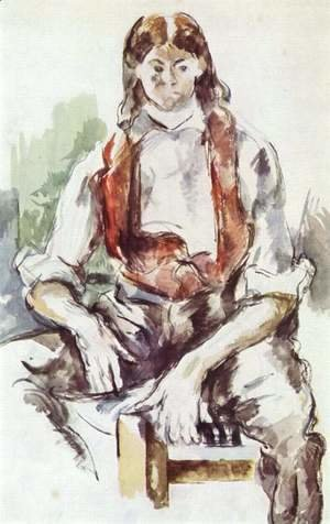 Paul Cezanne - Boy In A Red Vest5