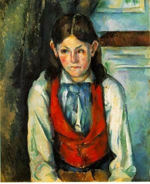 Paul Cezanne - Boy In A Red Vest 4