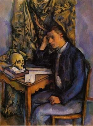Paul Cezanne - Boy With Skull