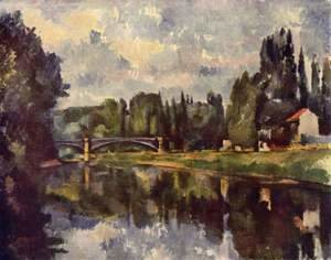 Paul Cezanne - Bridge Over The Marne