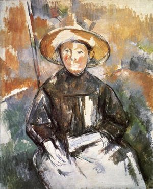 Paul Cezanne - Child With Straw Hat 2