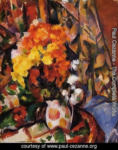 Paul Cezanne - Chrysanthemums