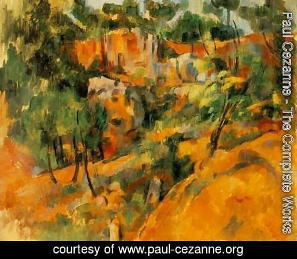 Paul Cezanne - Corner Of The Quarry