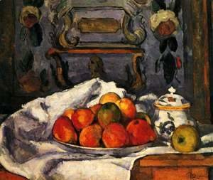 Paul Cezanne - Dish Of Apples