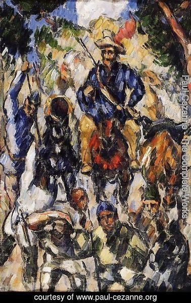 Paul Cezanne - Don Quixote  Seen From The Front