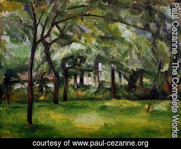 Paul Cezanne - Farm In Normandy  Summer Aka Hattenville
