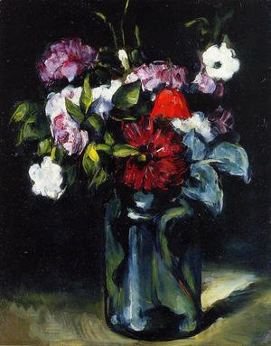 Paul Cezanne - Flowers In A Vase