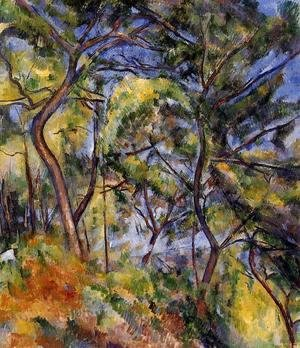Paul Cezanne - Forest
