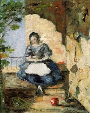 Paul Cezanne - Girl