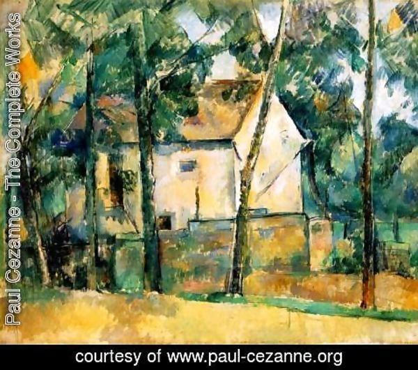 Paul Cezanne - House And Trees