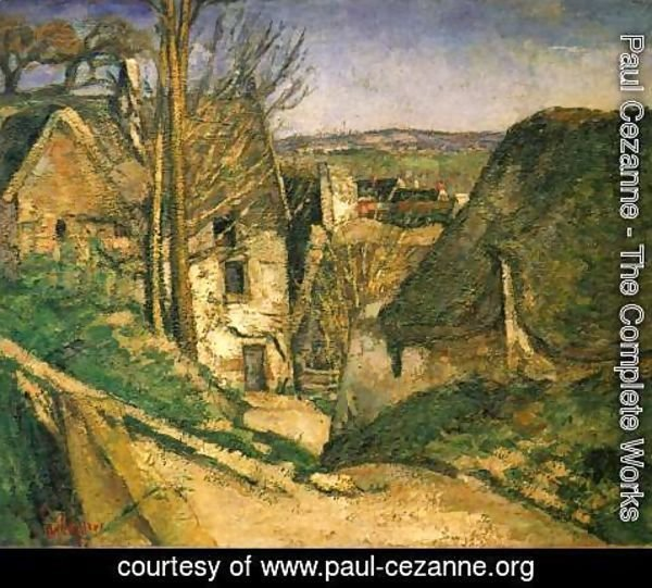 Paul Cezanne - House Of The Hanged Man  Auvers Sur Oise